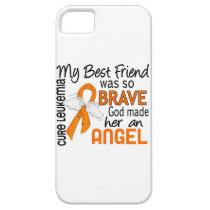 Angel 2 Best Friend (Female) Leukemia iPhone SE/5/5s Case