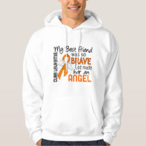 Angel 2 Best Friend (Female) Leukemia Hoodie