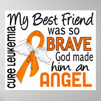 Angel 2 Best Friend (Male) Leukemia Poster