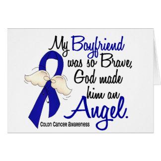 Angel 2 Boyfriend Colon Cancer Greeting Card