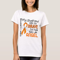 Angel 2 Boyfriend Leukemia T-Shirt