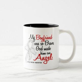 Angel 2 Boyfriend Lung Cancer Coffee Mugs
