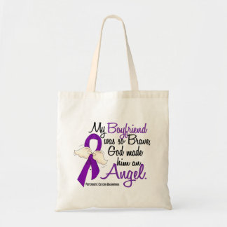 Angel 2 Boyfriend Pancreatic Cancer Canvas Bags