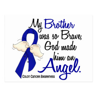 Angel 2 Brother Colon Cancer Post Cards