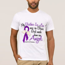 Angel 2 Brother-In-Law Pancreatic Cancer T-Shirt