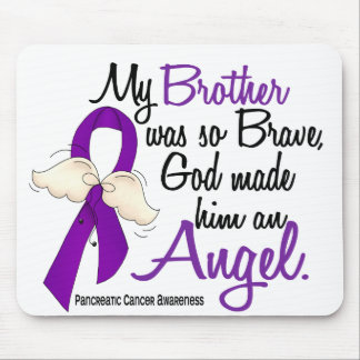Angel 2 Brother Pancreatic Cancer Mouse Pads