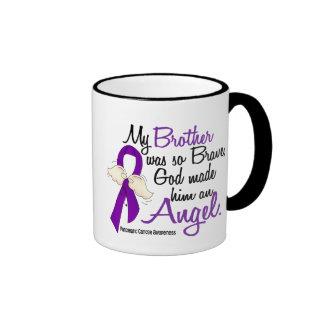 Angel 2 Brother Pancreatic Cancer Ringer Mug