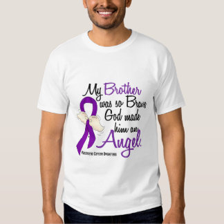 Angel 2 Brother Pancreatic Cancer T-shirt