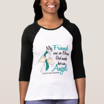 Angel 2 Cervical Cancer Friend T-Shirt