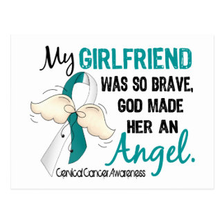 Angel 2 Cervical Cancer Girlfriend Postcard