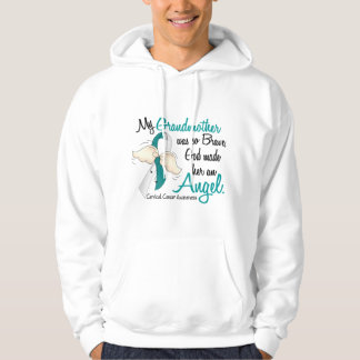Angel 2 Cervical Cancer Grandmother Hoodie