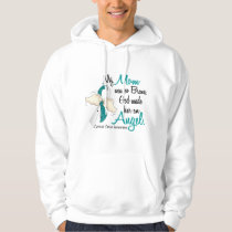 Angel 2 Cervical Cancer Mom Hoodie