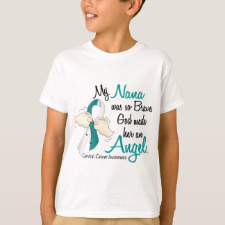 Angel 2 Cervical Cancer Nana T-Shirt