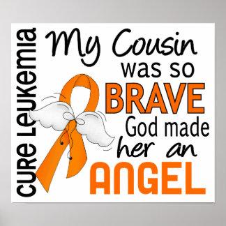 Angel 2 Cousin (Female) Leukemia Print