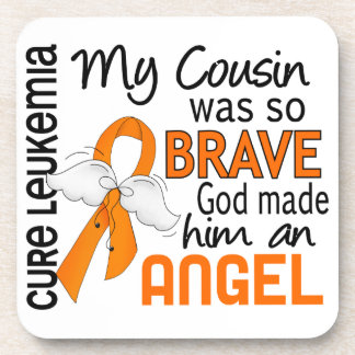 Angel 2 Cousin (Male) Leukemia Drink Coaster