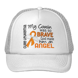 Angel 2 Cousin (Male) Leukemia Mesh Hat