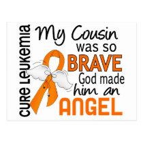 Angel 2 Cousin (Male) Leukemia Postcard