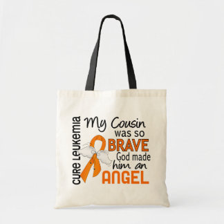 Angel 2 Cousin (Male) Leukemia Tote Bag
