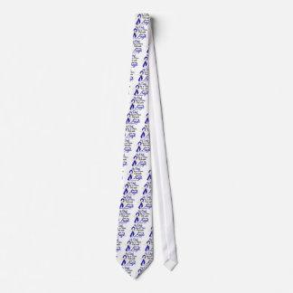 Angel 2 Dad Colon Cancer Neck Tie