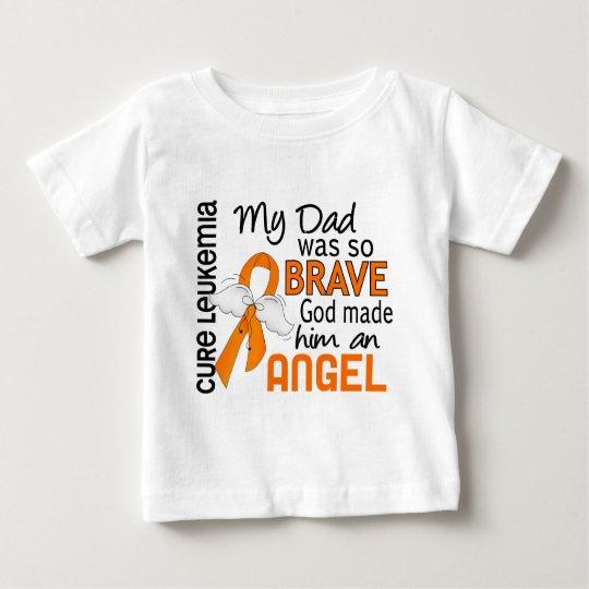 Angel 2 Dad Leukemia Baby T-Shirt