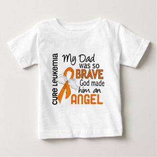 Angel 2 Dad Leukemia Shirt