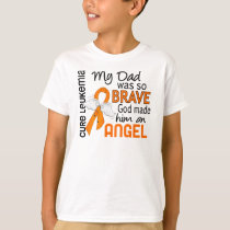 Angel 2 Dad Leukemia T-Shirt
