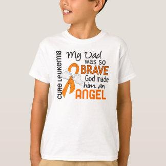 Angel 2 Dad Leukemia T-Shirt