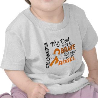 Angel 2 Dad Leukemia T Shirt