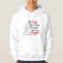 Angel 2 Dad Lung Cancer Hoodie