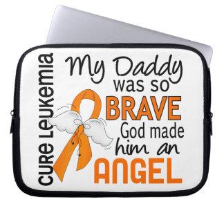 Angel 2 Daddy Leukemia Computer Sleeve