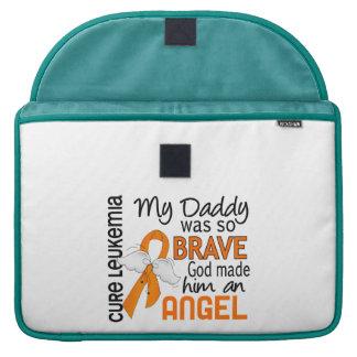 Angel 2 Daddy Leukemia Sleeve For MacBook Pro