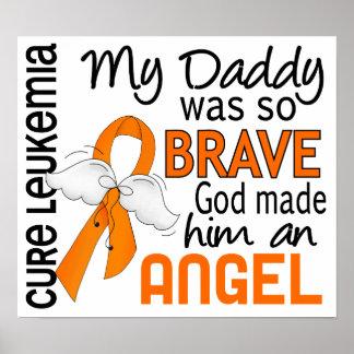 Angel 2 Daddy Leukemia Print
