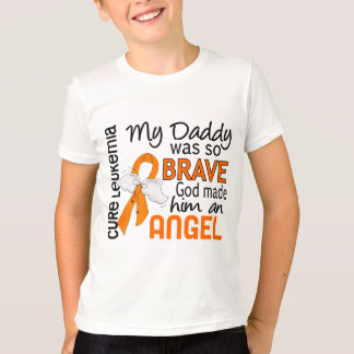 Angel 2 Daddy Leukemia T-Shirt