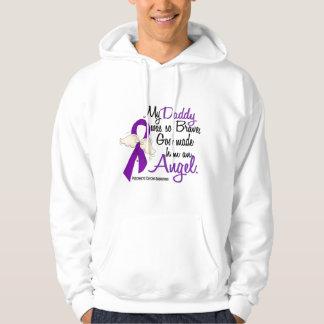 Angel 2 Daddy Pancreatic Cancer Hoodie
