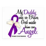 Angel 2 Daddy Pancreatic Cancer Post Card