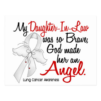 Angel 2 Daughter-In-Law Lung Cancer Postcard