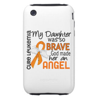 Angel 2 Daughter Leukemia iPhone 3 Tough Covers