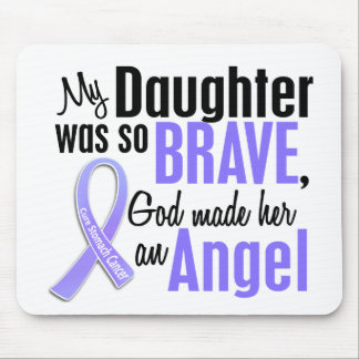 Angel 2 Daughter Stomach Cancer Mouse Pad