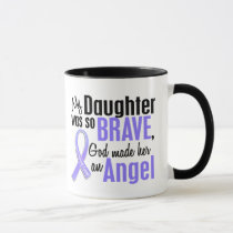 Angel 2 Daughter Stomach Cancer Mug