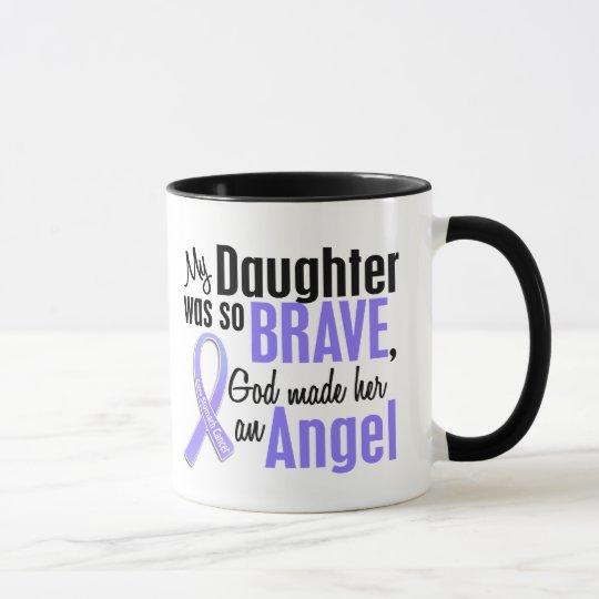 Angel 2 Daughter Stomach Cancer Mug