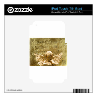 Angel #2 decal for iPod touch 4G