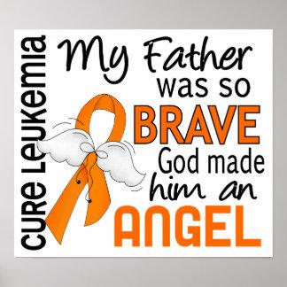 Angel 2 Father Leukemia Print