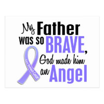 Angel 2 Father Stomach Cancer Postcard