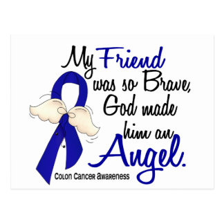 Angel 2 Friend Colon Cancer Post Cards