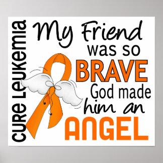 Angel 2 Friend (Male) Leukemia Posters