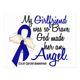 Angel 2 Girlfriend Colon Cancer Postcard
