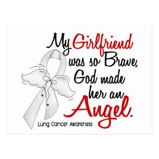 Angel 2 Girlfriend Lung Cancer Postcard