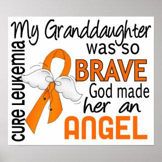 Angel 2 Granddaughter Leukemia Print