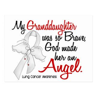 Angel 2 Granddaughter Lung Cancer Postcard
