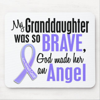 Angel 2 Granddaughter Stomach Cancer Mouse Pad